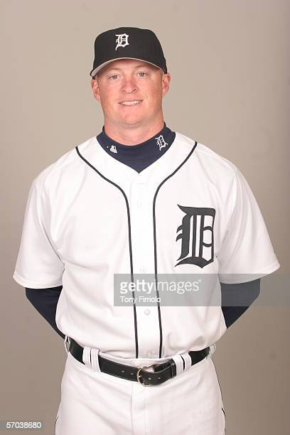 Jeremy Bonderman of the Detroit Tigers during photo day at Marchant Stadium on February 26 2006 in Lakeland Florida