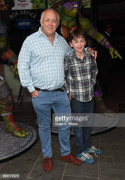 Jeremy Bowen arrives for the gala screening of Teenage Mutant Ninja Turtles Out Of The Shadows at Vue West End on May 29 2016 in London England