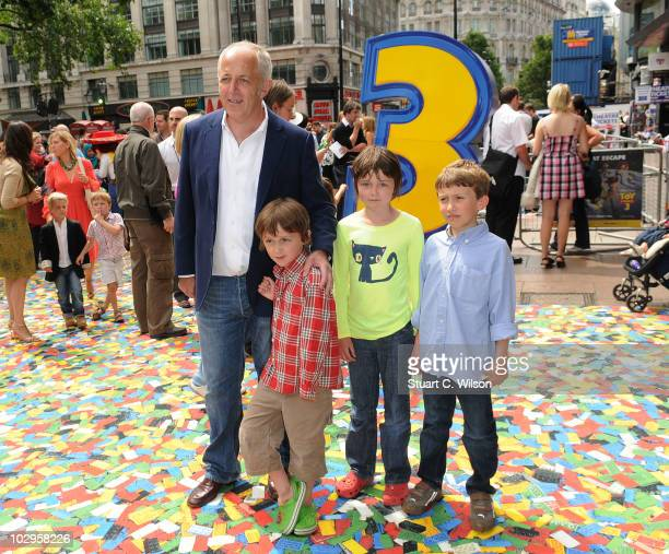 Jeremy Bowen attends the Toy Story 3 UK film premiere at the Empire Leicester Square on July 18 2010 in London England
