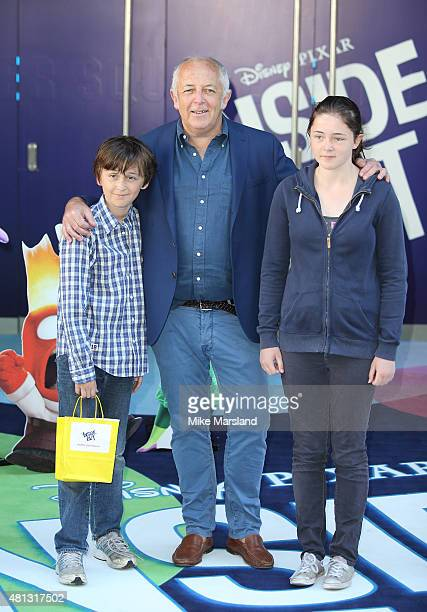 Jeremy Bowen attends the UK Gala Screening of Inside Out at Odeon Leicester Square on July 19 2015 in London England