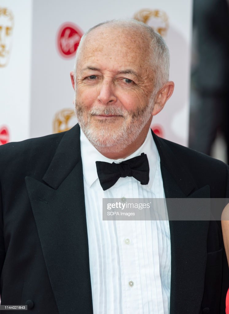 Jeremy Bowen seen on the red carpet during the Virgin Media... : News Photo