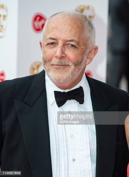 Jeremy Bowen seen on the red carpet during the Virgin Media British Academy Television Awards at The Royal Festival Hall in London