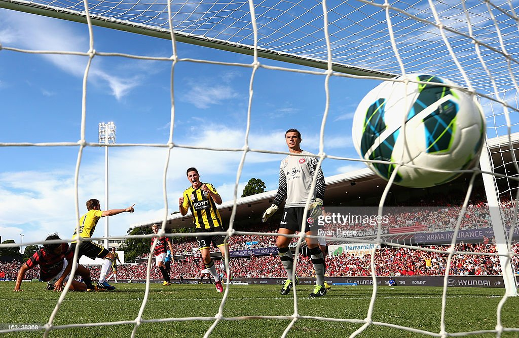 A-League Rd 24 - Western Sydney v Wellington