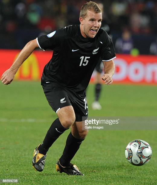 Jeremy Brockie of New Zealand during the FIFA Confederations Cup match between Iraq and New Zealand at Ellis Park on June 20 2009 in Johannesburg...