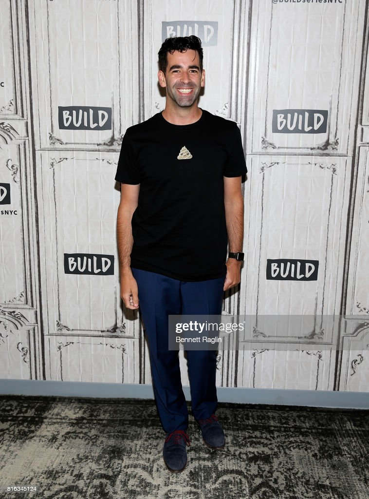 Jeremy Burge attends Build to discuss 'The Emoji Movie' at Build Studio on July 17, 2017 in New York City.