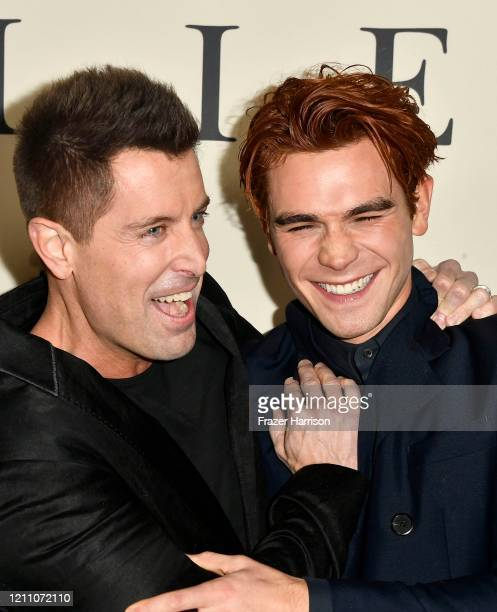 """Jeremy Camp and K.J. Apa attend the premiere of Lionsgate's """"I Still Believe"""" at ArcLight Hollywood on March 07, 2020 in Hollywood, California."""