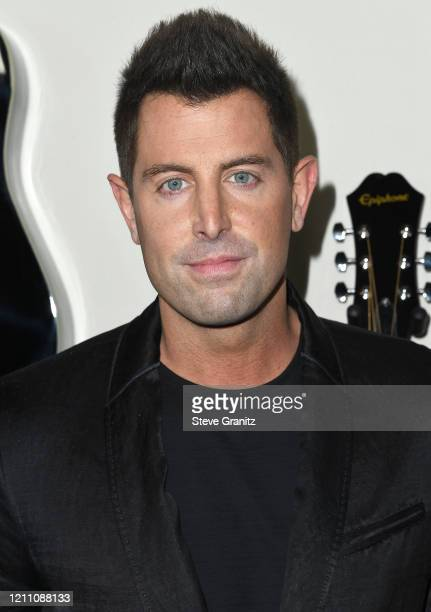"""Jeremy Camp arrives at the Premiere Of Lionsgate's """"I Still Believe"""" at ArcLight Hollywood on March 07, 2020 in Hollywood, California."""