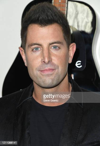 Jeremy Camp arrives at the Premiere Of Lionsgate's I Still Believe at ArcLight Hollywood on March 07 2020 in Hollywood California