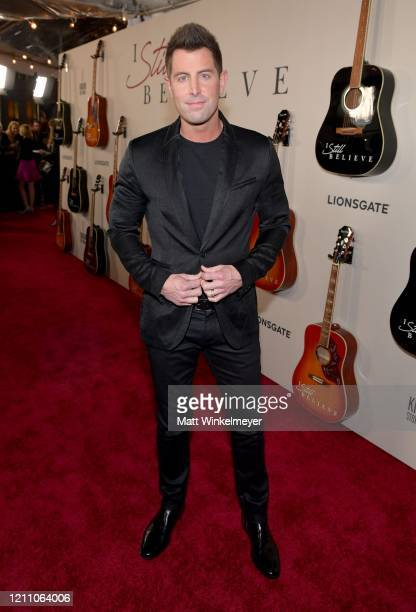 """Jeremy Camp attends the premiere of Lionsgate's """"I Still Believe"""" at ArcLight Hollywood on March 07, 2020 in Hollywood, California."""