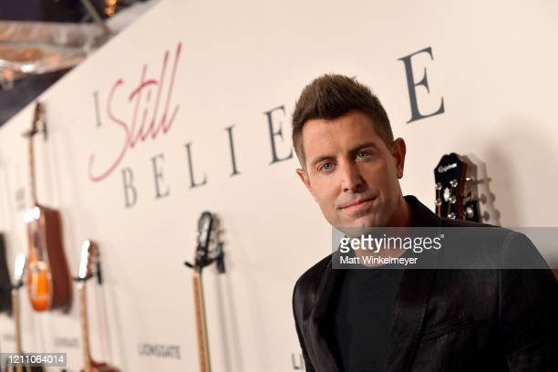 Jeremy Camp attends the premiere of Lionsgate's I Still Believe at ArcLight Hollywood on March 07 2020 in Hollywood California