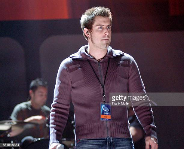 Jeremy Camp during GMA 35th Annual Music Awards Rehearsals Day One at Nashville Municipal Coliseum in Nashville Tennessee United States