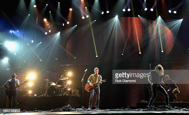 Jeremy Camp performs at the 2nd Annual KLOVE Fan Awards at the Grand Ole Opry House on June 1 2014 in Nashville Tennessee