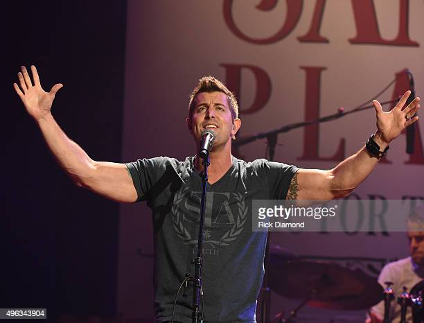 Jeremy Camp performs during Sam's Place - Music For The Spirit at The Ryman Auditorium on November 8, 2015 in Nashville, Tennessee.