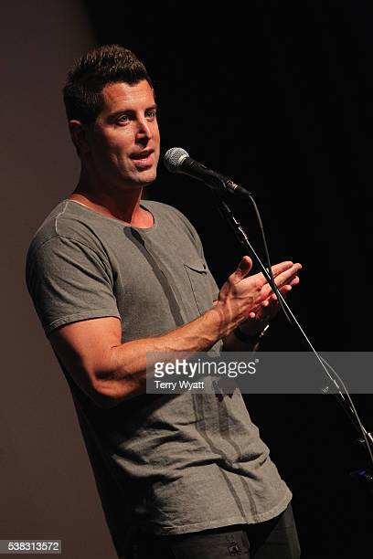 Jeremy Camp speaks in the press room at the 4th Annual KLOVE Fan Awards at The Grand Ole Opry House on June 5 2016 in Nashville Tennessee
