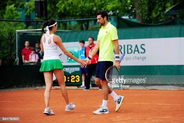 Jeremy CHARDY / Alize LIM Tennis Roland Garros 2014 Photo Dave Winter / Icon Sport