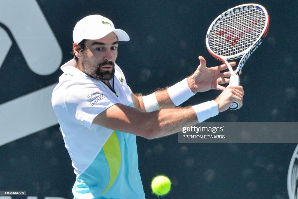 TENNIS-AUS-ATP : News Photo