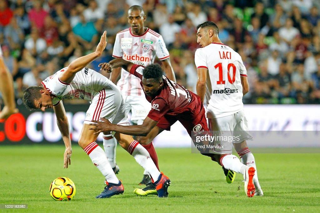 FC Metz v AC Ajaccio - French Ligue 2