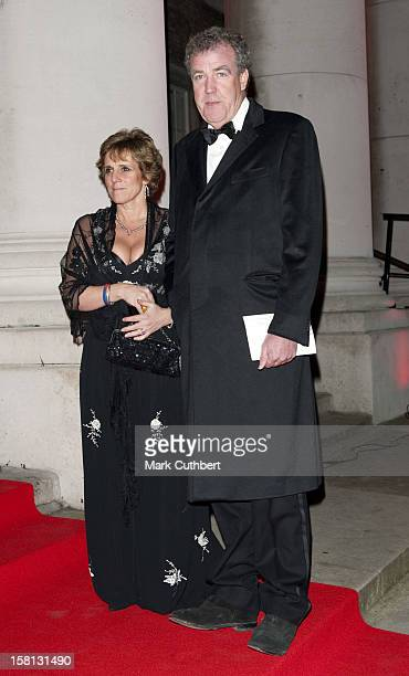 Jeremy Clarkson And Frances Cain Arrive At The Sun Military Awards 'A Night Of Heroes' At The Imperial War Museum London