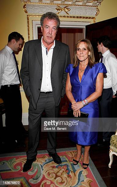 Jeremy Clarkson and Frances Clarkson attend the Tatler Jubilee Party hosted by Tatler editor Kate Reardon with Thomas Pink at The Ritz on May 2 2012...