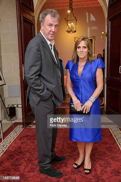Jeremy Clarkson and Frances Clarkson attend the Tatler Jubilee party at The Ritz on May 2 2012 in London England