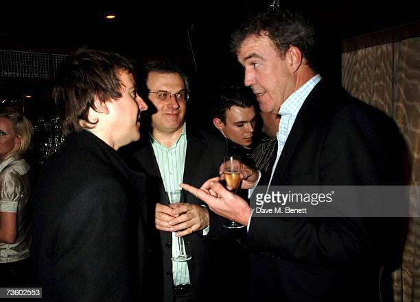 Jeremy Clarkson and guests attend private party at Ronnie Scott's hosted by Gary Farrow on March 15 2007 in London England
