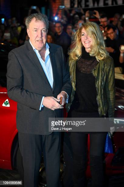 Jeremy Clarkson and Lisa Hogan attend a screening of 'The Grand Tour' season 3 held at The Brewery on January 15 2019 in London England