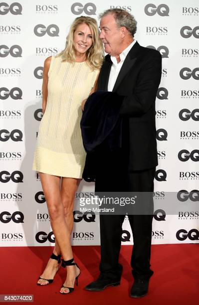 Jeremy Clarkson and Lisa Hogan attend the GQ Men Of The Year Awards at Tate Modern on September 5 2017 in London England