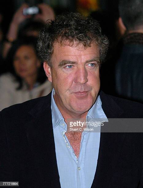 Jeremy Clarkson arrives at the 'Amazing Journey The Story Of The Who' Premiere at the Odeon Kensington on November 05 2007 in London England
