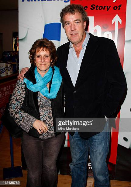 Jeremy Clarkson arrives at the premiere of 'Amazing Journey The Story Of The Who' ahead of the DVD launch at the Odeon Kensington on November 5 2007...