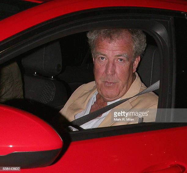Jeremy Clarkson attending a party in Camden on June 6 2016 in London England
