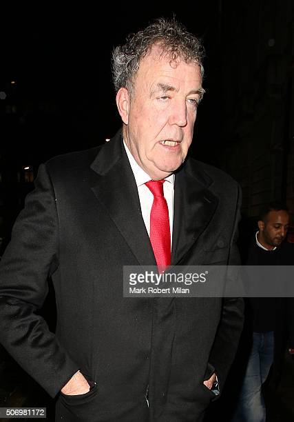 Jeremy Clarkson attending the GP Nutrition launch party at Annabel's club on January 26 2016 in London England