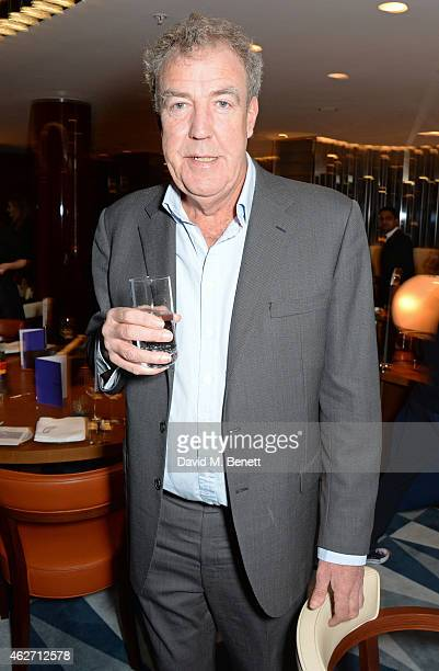 Jeremy Clarkson attends a charity dinner hosted by Nicola Formby and AA Gill with Dana Hoegh in support of Borne a charity aimed at preventing...