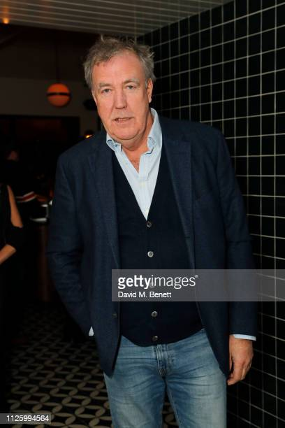 Jeremy Clarkson attends Mollie's Motel & Diner Opening Party on January 29, 2019 in Buckland, Oxfordshire, England.