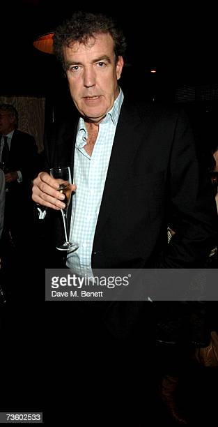 Jeremy Clarkson attends private party at Ronnie Scott's hosted by Gary Farrow on March 15 2007 in London England