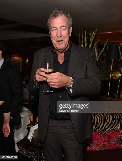 Jeremy Clarkson attends the launch of 'Desire 100 Of Literature's Sexiest Stories' hosted by Tatler and selected by Mariella Frostrup and The Erotic...