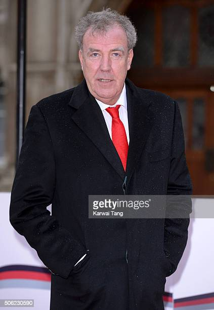 Jeremy Clarkson attends the Sun Military Awards at The Guildhall on January 22 2016 in London England