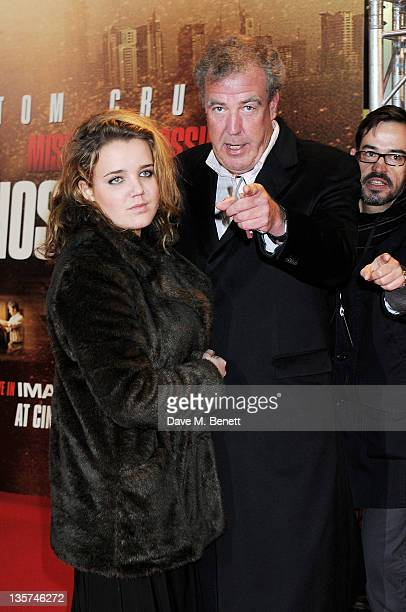 Jeremy Clarkson attends the UK Premiere of 'Mission Impossible Ghost Protocol' at BFI IMAX on December 13 2011 in London England