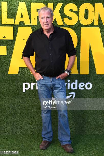 """Jeremy Clarkson during the """"Clarkson's Farm"""" photocall at St. Pancras Renaissance London Hotel on June 09, 2021 in London, England."""