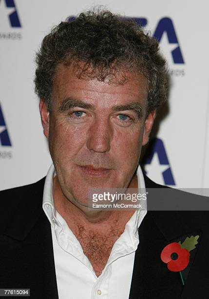 Jeremy Clarkson in the press room for the National Television Awards at the Royal Albert Hall on 31 October 2007 in London England