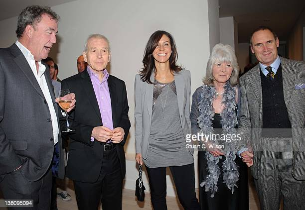 Jeremy Clarkson John Humphries Julia Bradbury Jilly Cooper and AA Gill attend the Sunday Times Magazine 50th Anniversary Party at Saatchi Gallery on...