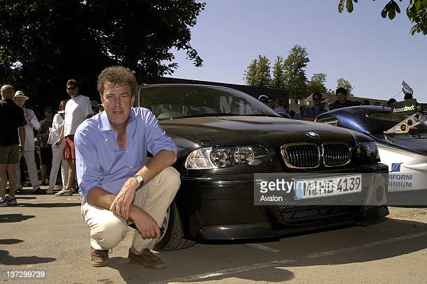 Jeremy Clarkson photographed at the Goodwood Festival of Speed West Sussex UK 13th July 2003