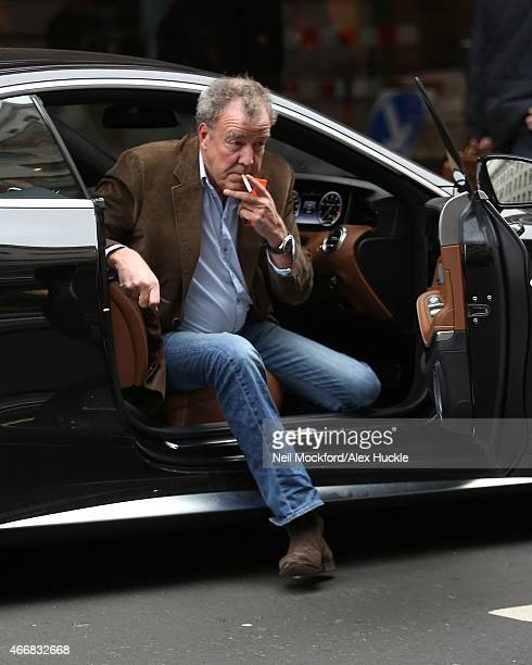 Jeremy Clarkson seen heading to The Ritz for lunch on March 19 2015 in London England