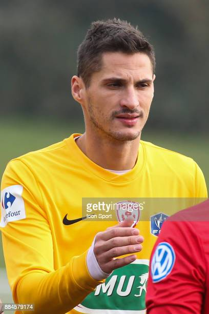 Jeremy Clement of Nancy during the French Cup match between Rungis and Nancy on December 2 2017 in BonneuilsurMarne France