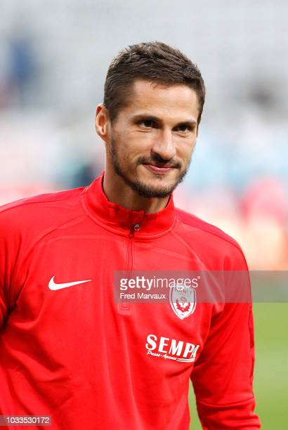 Jeremy Clement of Nancy during the French Ligue 2 match between Nancy and Le Havre on September 14 2018 in Nancy France