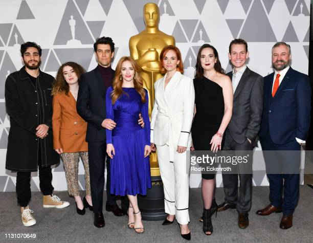 Jeremy Comte Maria Gracia Turgeon Guy Nattiv Jaime Ray Newman Marianne Farley MarieHelene Panisset Vincent Lambe and Darren Mahon attend the 91st...