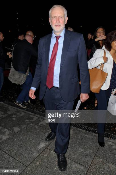 Jeremy Corbyn at the GQ Awards on September 5 2017 in London England