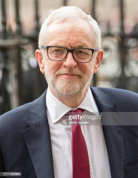 Jeremy Corbyn attends the Commonwealth Day Service 2020 on March 09 2020 in London England