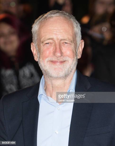 Jeremy Corbyn attends the GQ Men Of The Year Awards at Tate Modern on September 5 2017 in London England