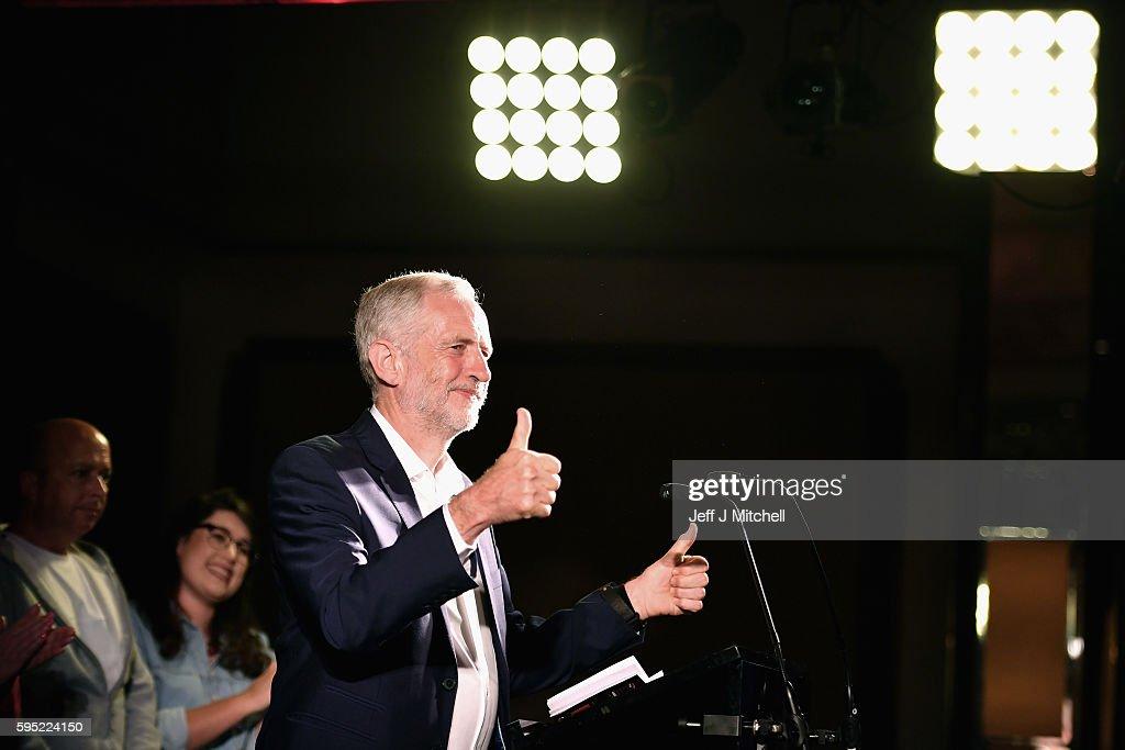 Labour Leadership Contest Comes To Scotland : News Photo