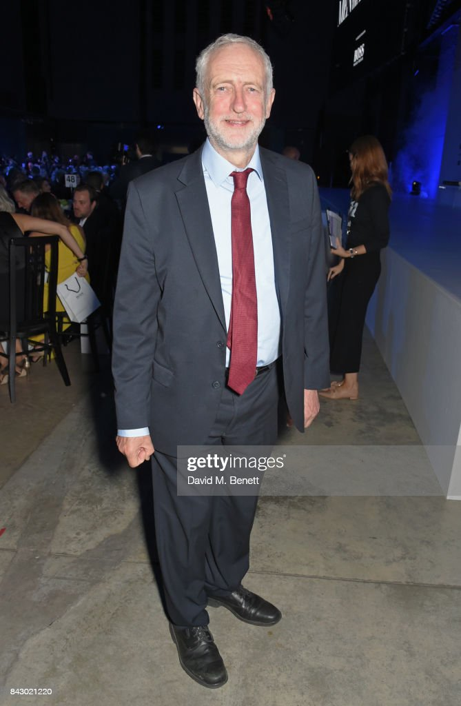 Jeremy Corbyn, Leader of the Labour Party, attends the GQ Men Of The Year Awards at the Tate Modern on September 5, 2017 in London, England.